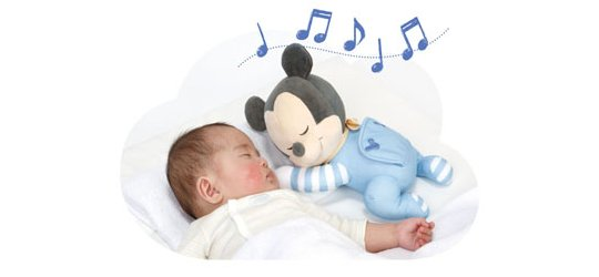 Issho ni Nenne Baby Mickey Mouse