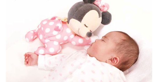 Japan Trend Shop Issho ni Nenne Baby Minnie Mouse