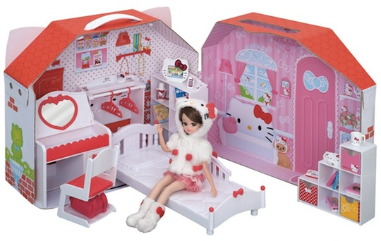 Japan Trend Shop Licca Chan Hello Kitty Daisuki Room