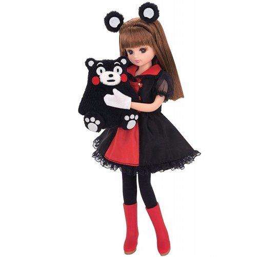 Kumamon Licca-chan Doll