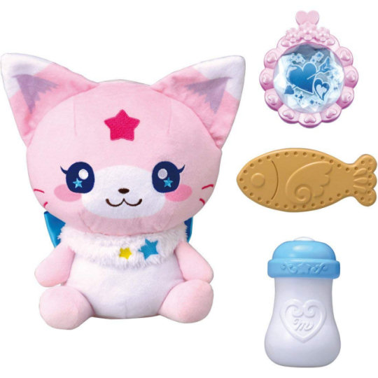 Magic x Warrior Magi Majo Pures! Mokonyan Talking Cat Toy
