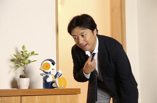 Motto Nakayoshi Robi Jr Miniature Robot
