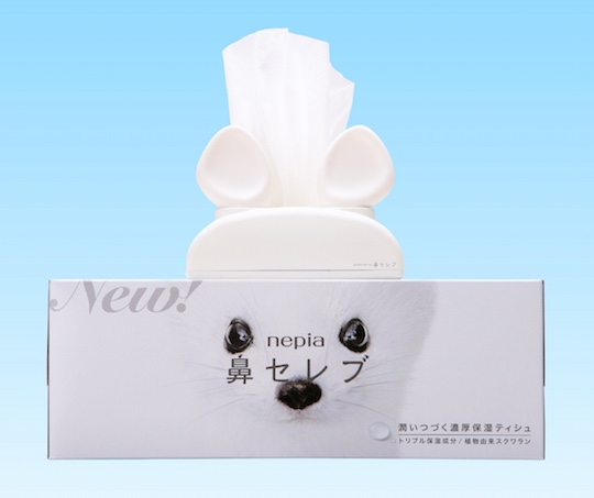 Talking Animal Ears Tissue Dispenser