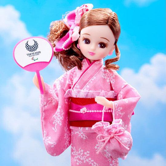 Tokyo 2020 Olympics Paralympics Yukata Licca-chan