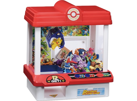 Japanese Toys And Games : Japan trend shop pokemon crane game