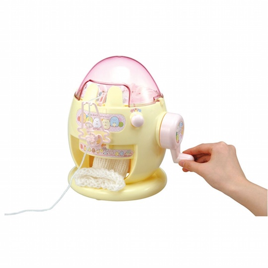 Sumikko Gurashi Amigurumi Knitting Machine