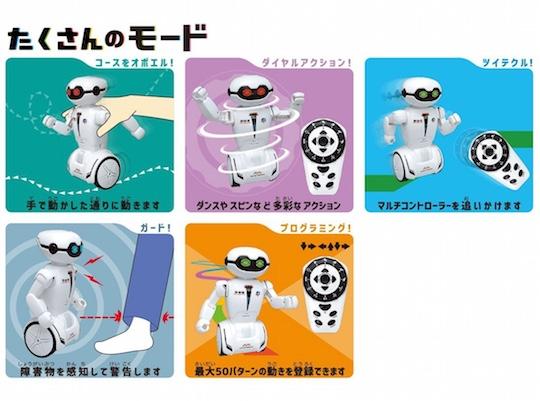 Takusanoid Robot
