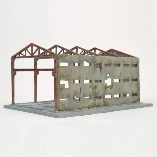Tomytec Diocolle Combat Series Diorama DCM01 Destroyed Factory