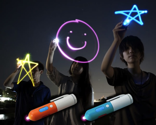 Japan trend shop yozora oekaki art penlight for iphone ipad for Cool things to paint