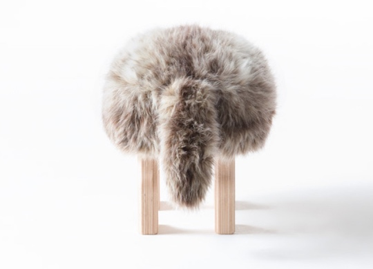 Animal Stool with Tail