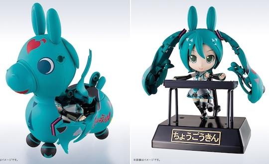 Chogokin Miracle Henkei Hatsune Miku Rody