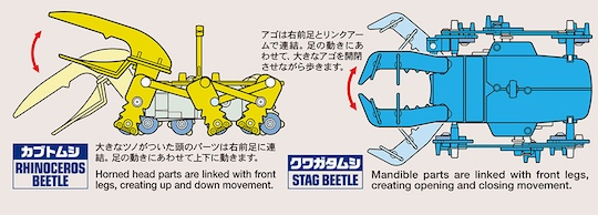 Tamiya 2-Channel Remote Control Insect Dueling Set