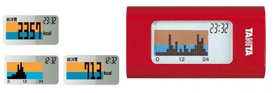 Tanita Calorism Smart Pedometer