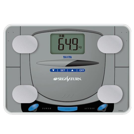 Sega Saturn Console Body Composition Monitor