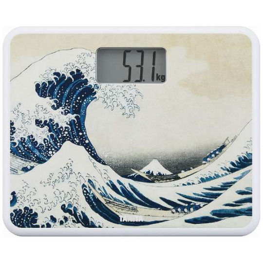 Tanita Ukiyoe Woodblock Print Digital Health Meter