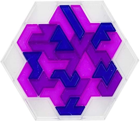 Brain Block Heptiamond Puzzle