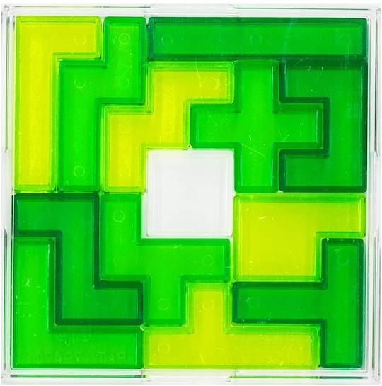 Brain Block Pentomino Square Puzzle