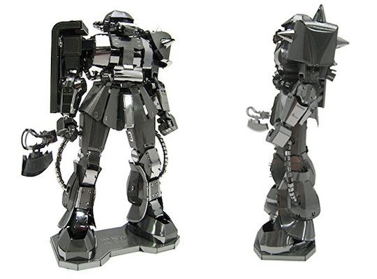 Metallic Nano Puzzle Mobile Suit Gundam MS-06 Zaku II