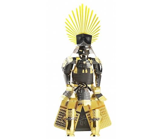 Metallic Nano Puzzle Toyotomi Hideyoshi Armor Model