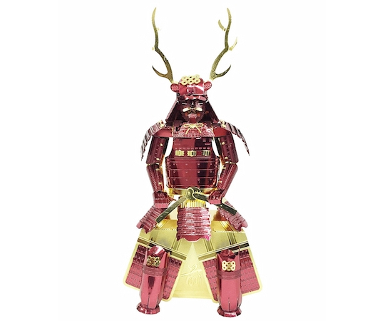 Metallic Nano Puzzle Sanada Yukimura Armor Model