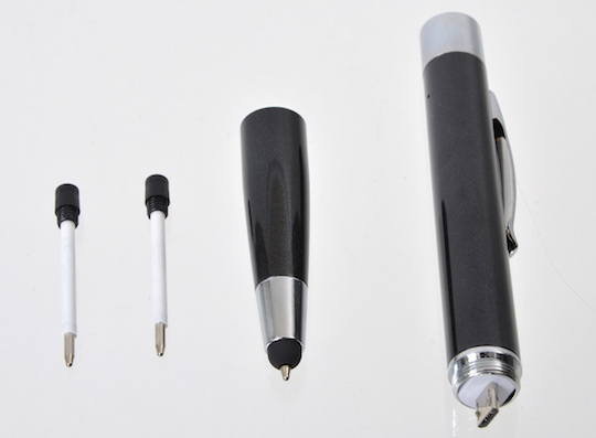 Ballpoint Pen Power Ring for iPhone, Android
