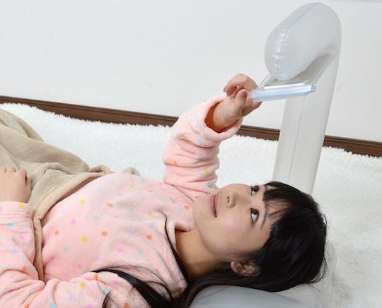 Bath Air Pillow Smartphone Holder