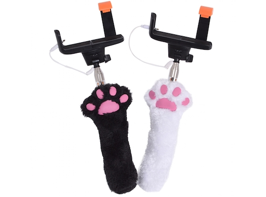Japan Trend Shop Cat Paw Selfie Stick