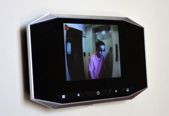 Door Scope Monitor
