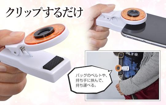 Selfie Mini Ringlight Grip