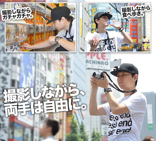Smabow Smartphone Camera Hat