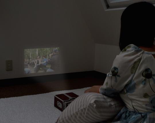 Thanko Smartphone de Theater Projector