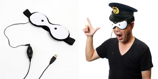 Tensai Bakabon Honkan-san USB Eye Warmer