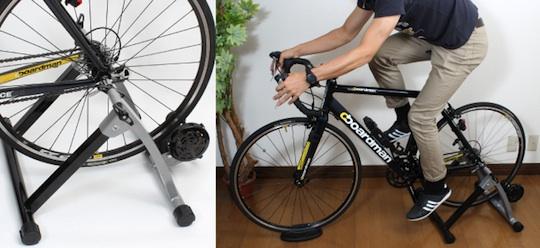 convert bike to exercise machine