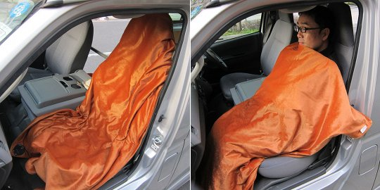 Hot Car Seat Heater Blanket