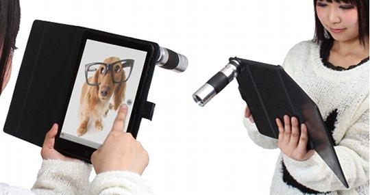 iPad Mini Case 16X Zoom Macro Lens