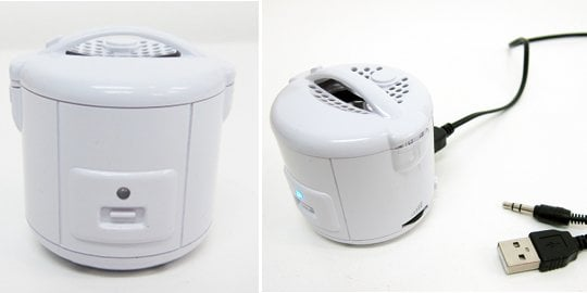 Thanko Rice Cooker USB Mini Speaker