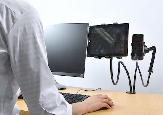 Smartphone and Tablet Dual Holder