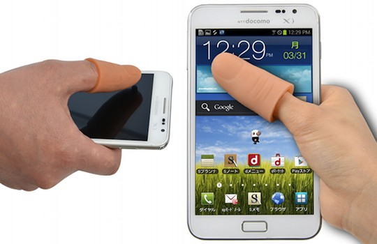 Thanko Thumb Extender for Phone Touchscreens