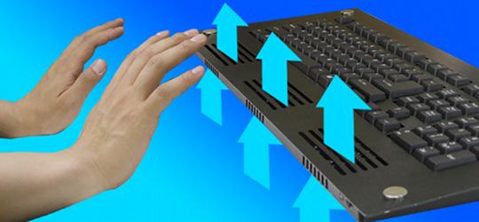 Thanko USB Cooler Keyboard