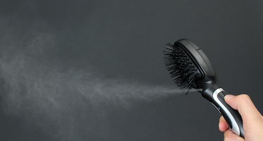 Thanko USB Hairbrush Mist Spray
