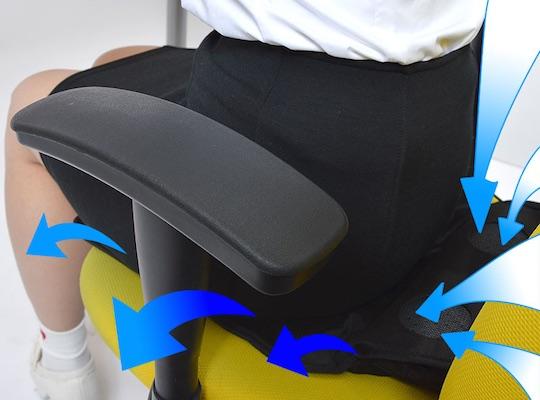 Twin Fan USB Cooling Seat Cushion