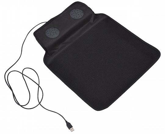 Twin Fan USB Cooling Seat Cushion