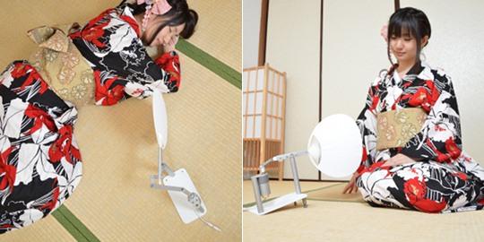 USB Electric Uchiwa Japanese Fan