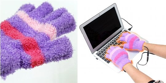 USB Heated Mittens