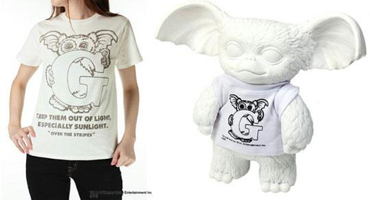 OVER THE STRiPES! Gizmo Vinyl Toy T-shirt Set