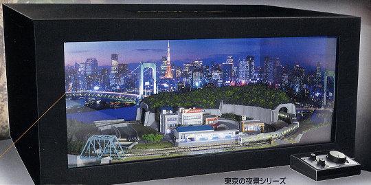 Japan Trend Shop Tokyo Night View Jr Yamanote Train Model