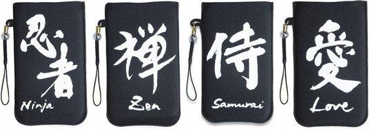 Japanese Kanji iPhone Soft Case