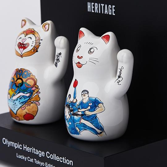 Olympic Heritage Maneki-neko Lucky Cat Tokyo Edition