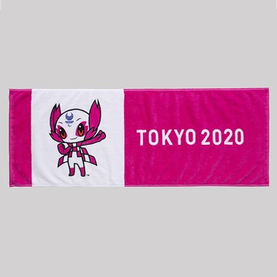 Tokyo 2020 Olympics Mascot Face Towel