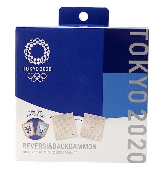 Tokyo 2020 Olympics Reversi & Backgammon Game